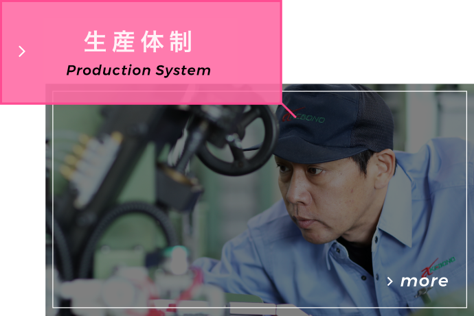 生産体制 Production System