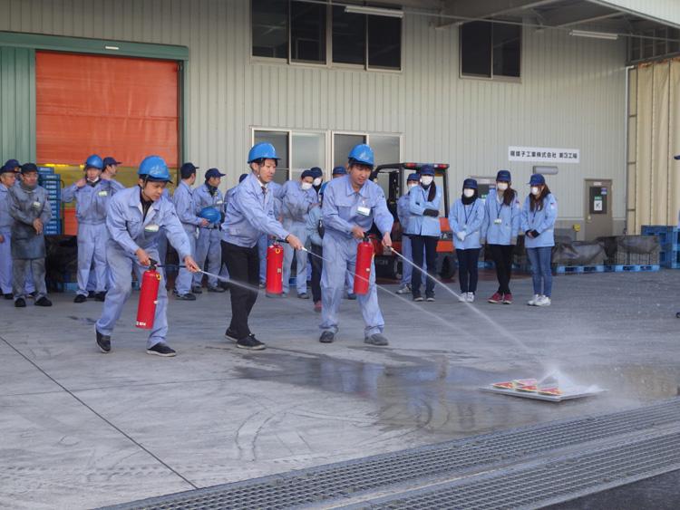 2017年12月9日火災避難訓練及び消火訓練